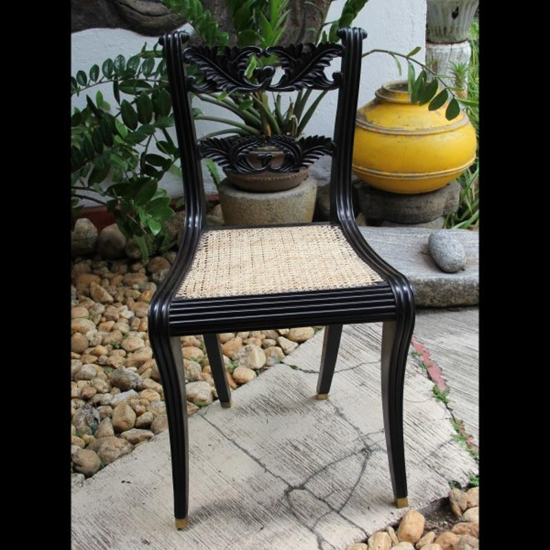 Antique Ebony Chairs