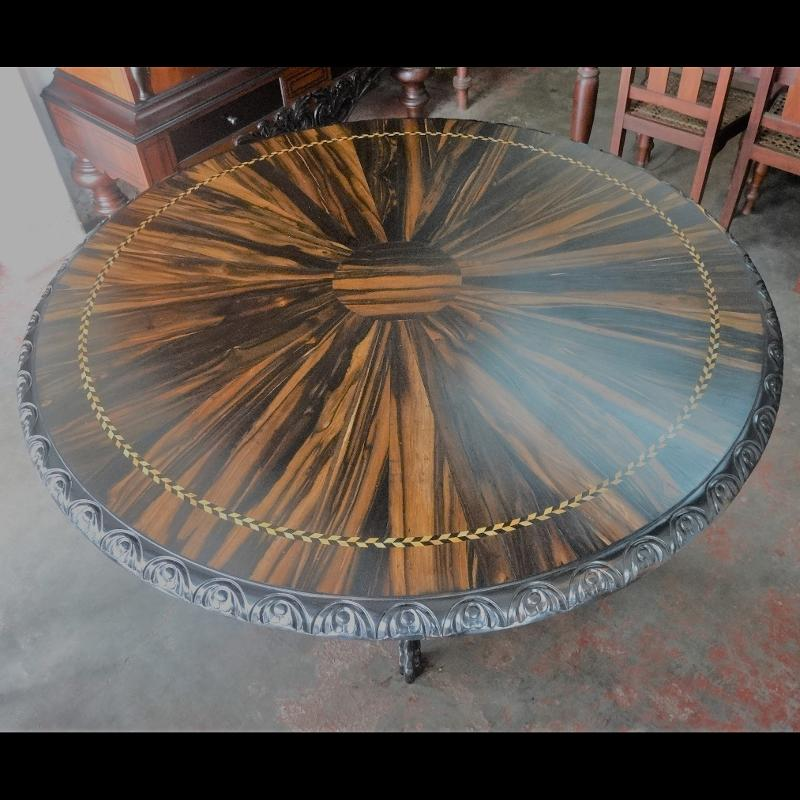 Calamander Table Large