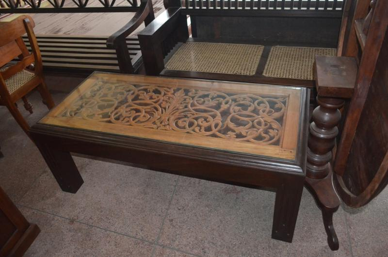 Coffee Table - Aludel and Satin wood