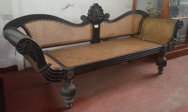 Ebony Couch Antique