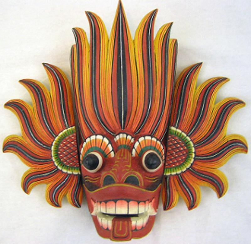 Fire and Water Spirit Mask