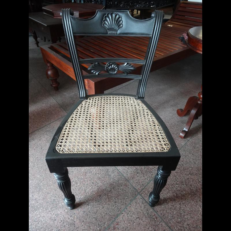 Jackwood chair black color