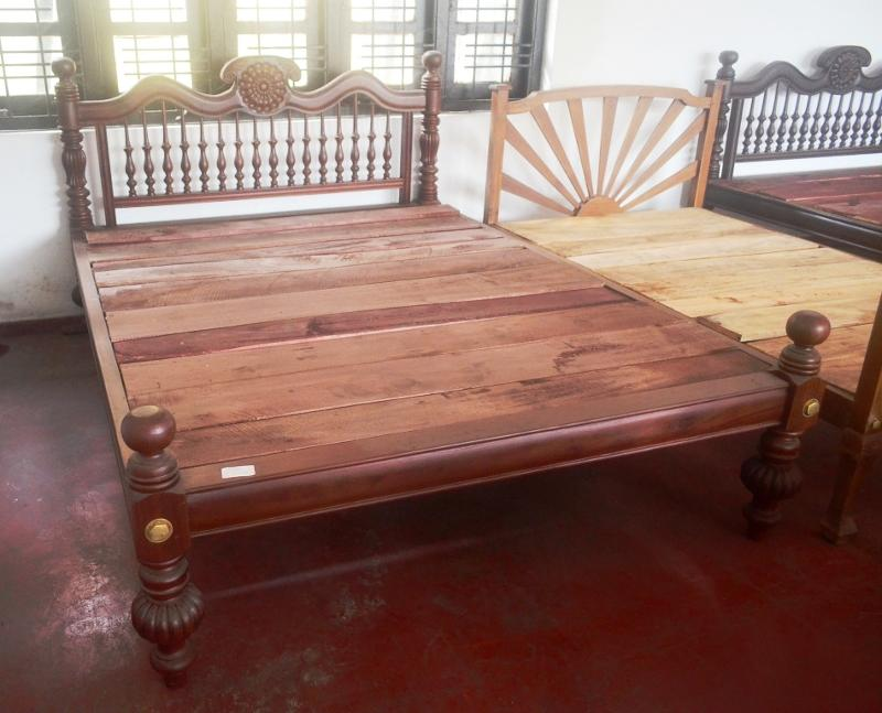 Jackwood Double Bed Furniture Sri Lanka