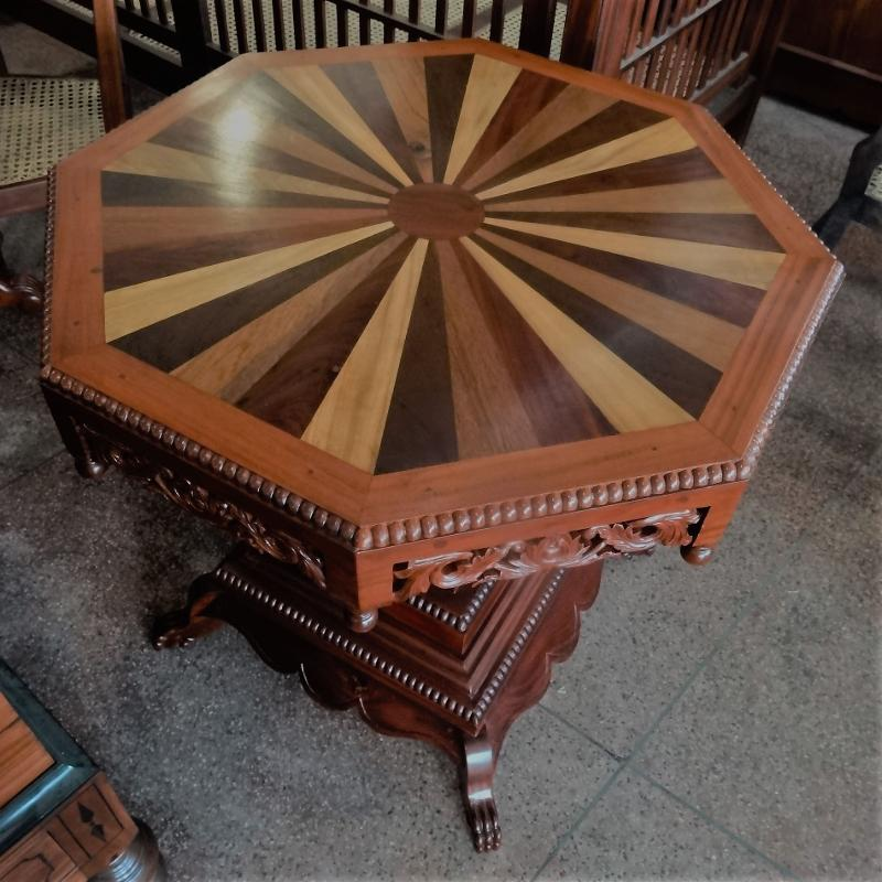 Jack wood Octagon Table