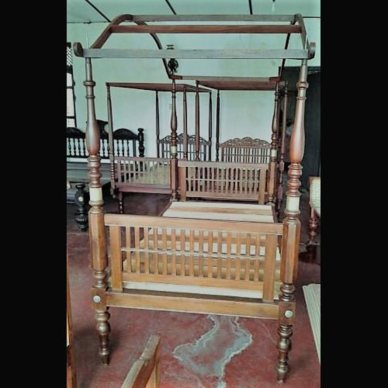 Jackwood Single Bed with Canopy