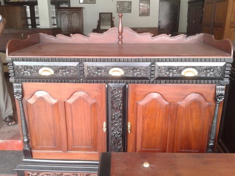 Jackwood And Ebony Sideboard Antique Furniture Sri Lanka Online Furniture Store Andy 39 S