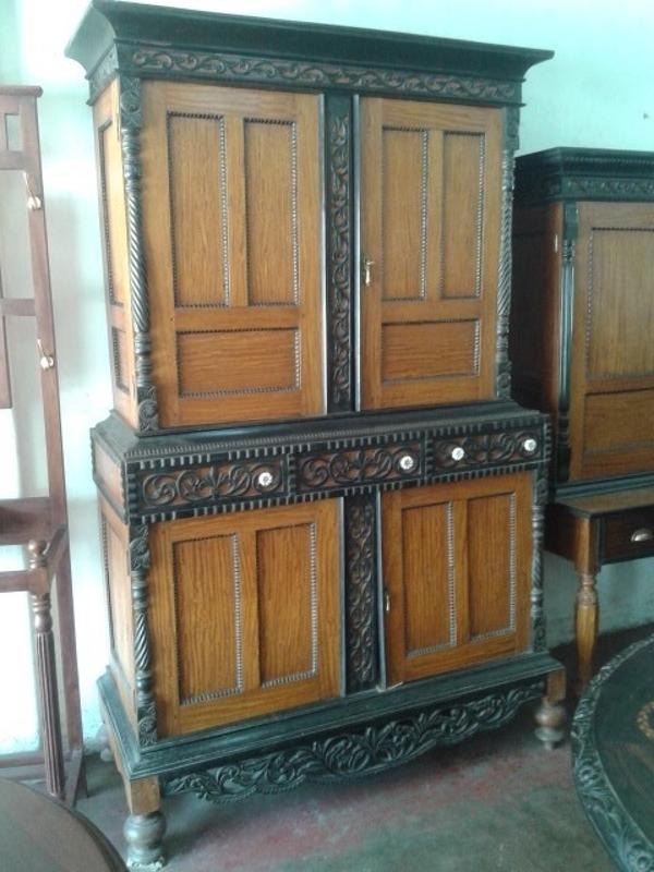 Satinwood Ebony Almirah | Wardrobe | Cupboard