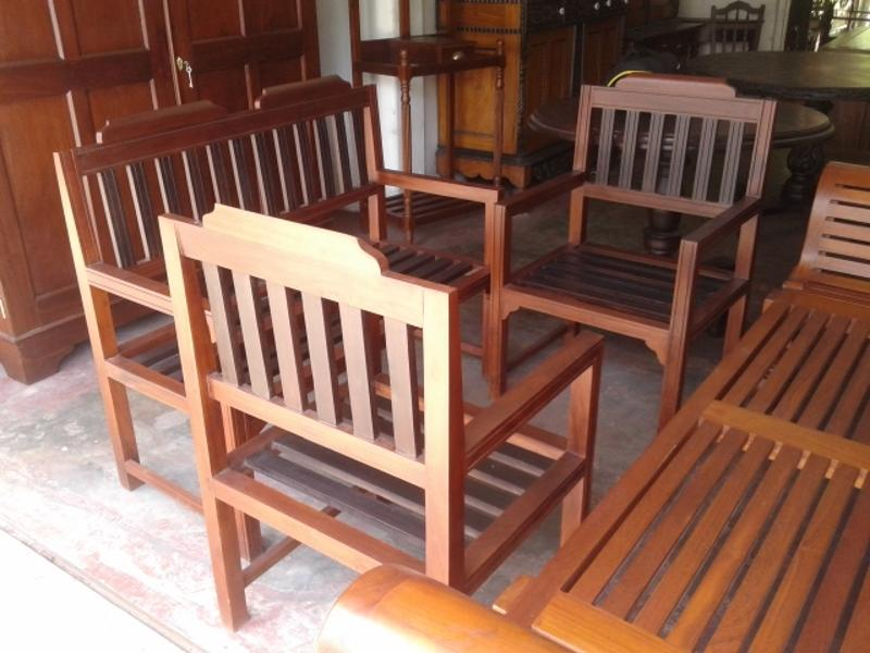 Wooden Sofa Set Jackwood - Lobby Bench set